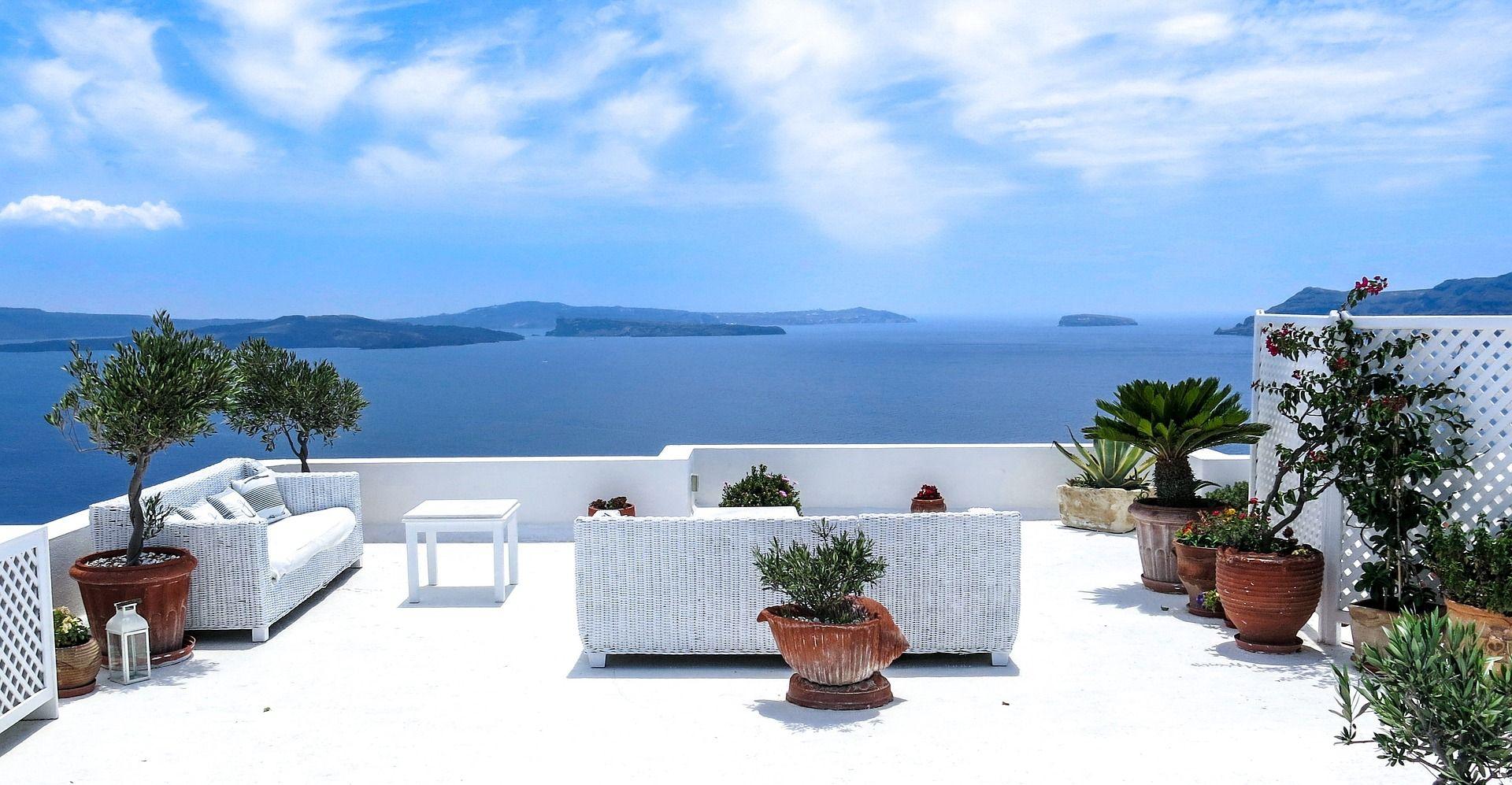 Ambientes para la terraza