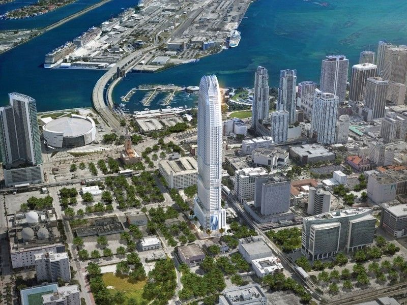 Okan tower, Downtown Miami 1